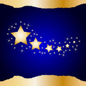 Christmas star background — Stock Vector