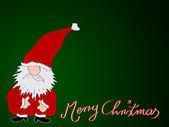 Xmas card-frohe weihnachten — Stockvektor