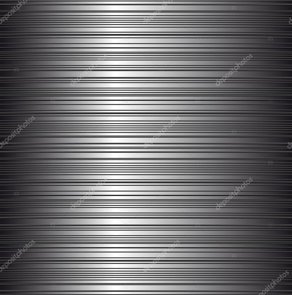 Brushed metal background — Stock Vector #6056888