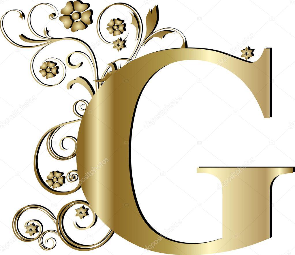 大写字母 g 金子