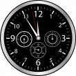 chrono watch — Stock Vector