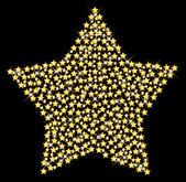 Christmas star — Stock Vector
