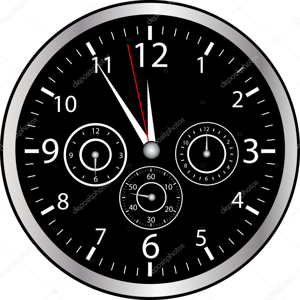 Chrono Watch — Stock Vector #6071987