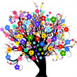 Stock Photo: Flower tree