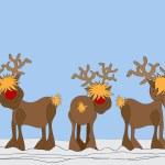 Rudolph reindeer — Stock Photo