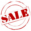 Rubber Stamp Sale — Stockfoto