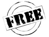 Rubber Stamp Free — Stock Photo