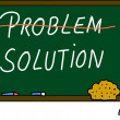 Stock Photo: Problem solution
