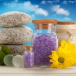 Spa and aromatherapy - lavender — Stock Photo