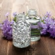 Spa and aromatherapy- essential oils — Stock Photo