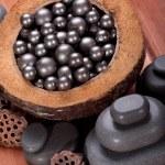 Massage spa stones — Stock Photo #6507811