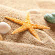 Stock Photo: Starfish on sand