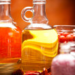 Stock Photo: Spsupplies - oils and salt