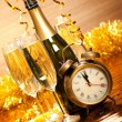 Party decoration - New Year's Day - Stock Photo