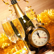 Stock Photo: Party decoration - New Year's Day