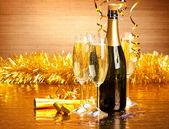 Op nieuwjaarsdag — Stockfoto