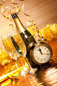 Party decoration - New Year's Day — Stock Photo