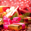 Christmas decoration - gifts — Stock Photo #6520350