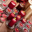 Xmas candles — Stock Photo #6520590