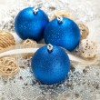 Foto Stock: Christmas baubles