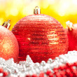Royalty-Free Stock Photo: Christmas - Three red balls
