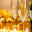 Glasses of champagne — Stock Photo #6522118