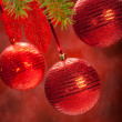 Balls - christmas decoration — Stock Photo
