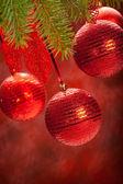 Balls - christmas decoration — Stock Photo