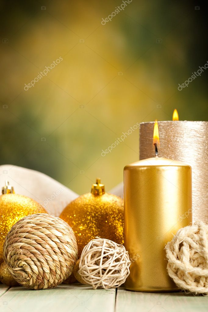 Decoration candles — Stock Photo #6520077