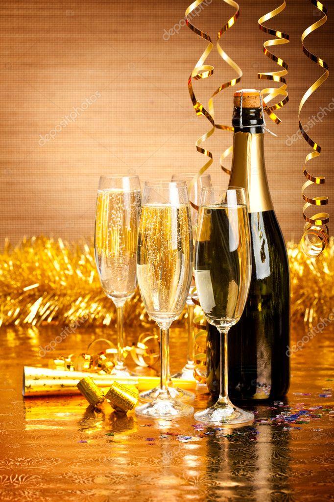 Бокалы для шампанского Стильная пара купить 88