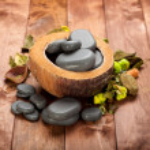 Spa treatment - basalt massage stones — Stock Photo #6554684