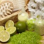 Spa - massage and aromatherapy — Stock Photo