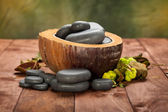 Massage stones — Stock Photo