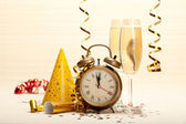 Happy new year - party decoration — Stockfoto
