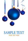 Baubles - christmas decoration — Foto Stock