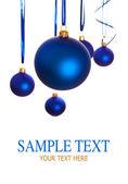 Bombki - świąteczne dekoracje — Zdjęcie stockowe