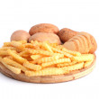 Постер, плакат: Potatoes and chips