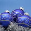 Christmas baubles — Stock Photo #6574057