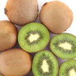 Ripe kiwi fruits — Stock Photo