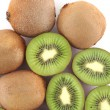 Stock Photo: Ripe kiwi fruits