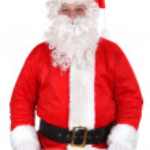 Holy Santa Claus — Stock Photo