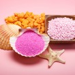 Pink minerals for Spa — Stock Photo #6657704