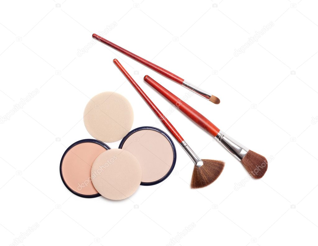 Make up brushes  Stock Photo #6657947