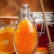Orange Spa - fresh minerals for Aromatherapy — Stock Photo