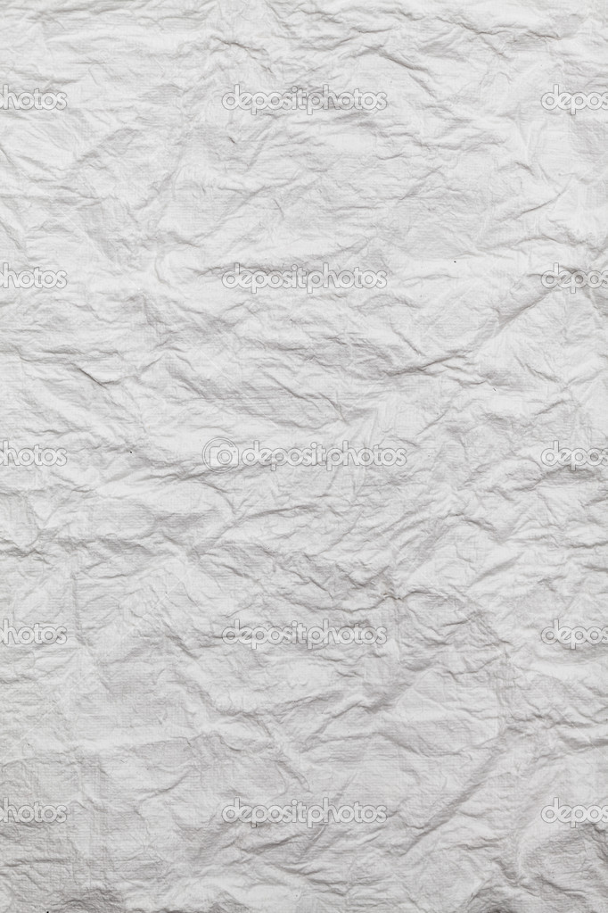 White crumpled paper — Photo #6670801