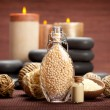 Spa and wellness - vanilla aromatherapy — Stock Photo