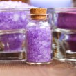 Lavender bath salt — Stock Photo #6683263