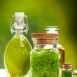 Aromatherapy minerals - Spa and wellness — Stock Photo