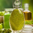 Beauty treatment - green natural spa - Foto de Stock