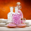 Stock Photo: Spstill life - aromatherapy minerals